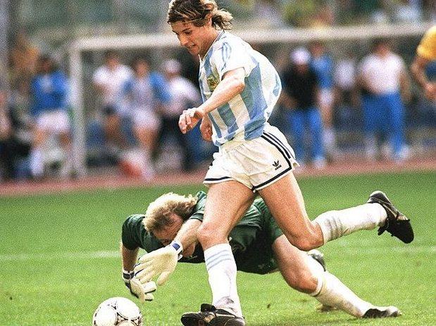 Resultado de imagem para caniggia brasil argentina